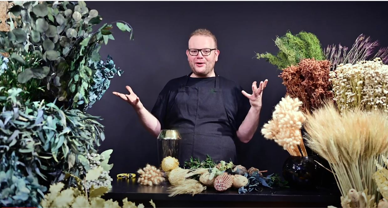Wafex Australia Dried & Preserved Flower Inspiration with Matthew Landers